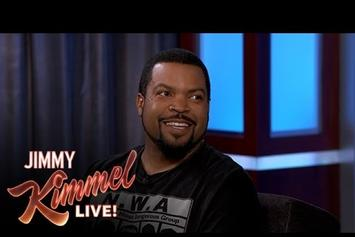Ice Cude Discusses N.W.A. Movie With Jimmy Kimmel