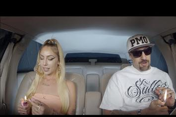 "Lil Debbie In ""The Smokebox"" With B-Real"
