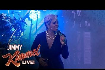 """Disclosure & Mary J. Blige Perform """"F For You"""" On Jimmy Kimmel"""