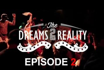 "Mark Battles ""Dreams 2 Reality"" Tour Vlog #2"