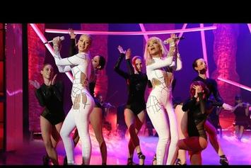 "Iggy Azalea & Rita Ora Perform ""Black Widow"" On Ellen"