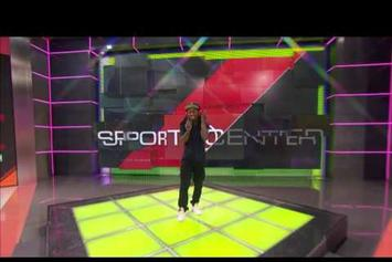 Lil Wayne Freestyles On ESPN's SportsCenter