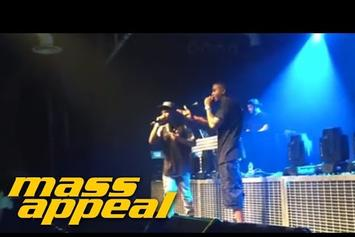 Nas Brings Out Fashawn In Germany
