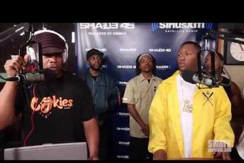 Hit-Boy & HS87 Crew Freestyle On Sway In The Morning