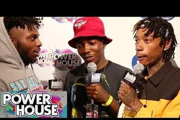 Wiz Khalifa, Isaiah Rashad, Dizzy Wright & More On Red Carpet At Powerhouse 2014