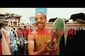 Earl Sweatshirt Gives Tour Of His L.A. Apartment