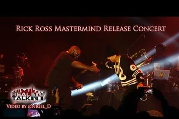 "Rick Ross Brings Out French Montana To Perform ""Nobody"" Live"
