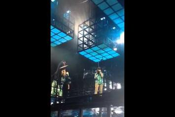 Jay Z Brings A Girl Onstage To Rap For The Second Time