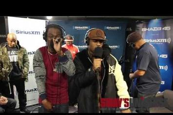 """Audio Push Freestyle On """"Sway In The Morning"""""""
