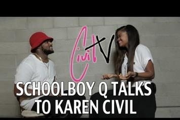 "Schoolboy Q ""Talks New LP, Old Rapper Tweets & More"" Video"