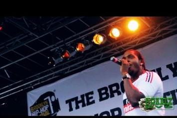 "Pusha T ""Brooklyn Hip Hop Festival Performance"" Video"