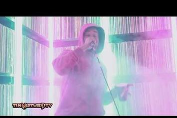 """Danny Brown """"Tim Westwood (Freestyle)"""" Video"""