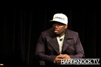 """50 Cent """"Talks On Conscious Capitalism, Africa, Bay Area Artists"""" Video"""