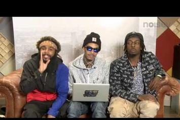 """Flatbush Zombies """"Respond To YouTube Comments"""" Video"""