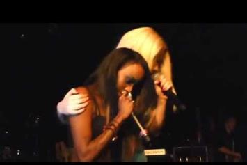 Angel Haze Brings Out Iggy Azalea In London