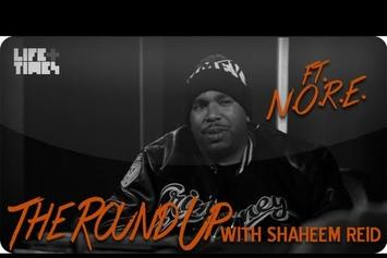 """P.A.P.I. (NORE) """"Talks Making Hits With Pharrell, """"Student Of The Game"""""""" Video"""