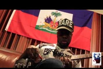 "Wyclef Jean ""Started From The Bottom (Freestyle In Studio)"" Video"