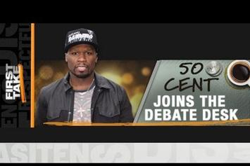 "50 Cent ""On ESPN's First Take"" Video"