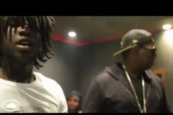 """Chief Keef """"In The Studio With Fat Trel & Master P"""" Video"""