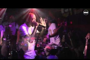 Freddie Gibbs's Performance At Boiler Room SXSW Was Short And Sweet