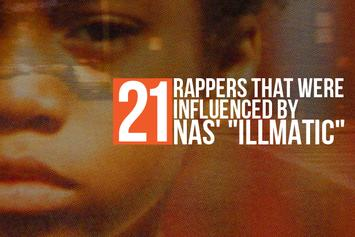 "21 Rappers That Were Influenced By Nas' ""Illmatic"""