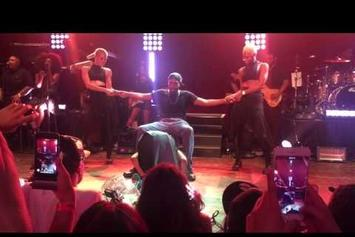 Ciara Gives A Fan A Lap Dance