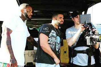 "Drake & The Game Shoot New Music Video For ""100"" In Compton"