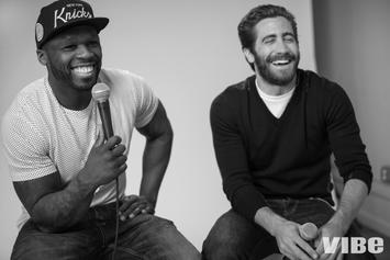 50 Cent & Jake Gyllenhaal Cover VIBE Magazine