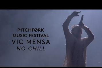"Vic Mensa Performs ""No Chill"" & ""U Mad"" At Pitchfork Festival"
