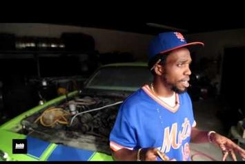 Curren$y On His 1984 Chevy Monte Carlo SS