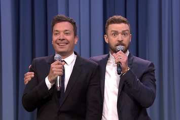 "Justin Timberlake & Jimmy Fallon Perform ""History Of Rap 6"""
