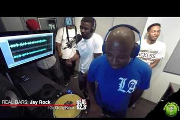 """Jay Rock Spits A """"Real Bars"""" Freestyle"""