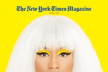 Nicki Minaj Speaks On Drake/Meek Mill Beef For New York Times Magazine