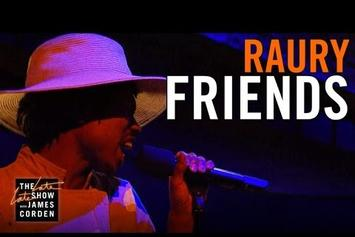 "Raury Performs ""Friends"" On The Late Late Show"