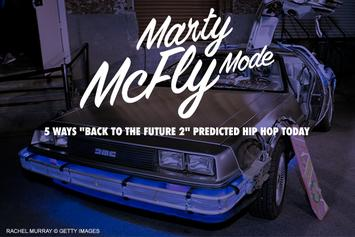 """Marty McFly Mode: 5 Ways """"Back To The Future 2"""" Predicted Hip Hop Today"""