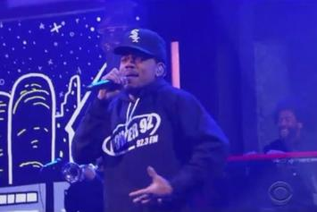 "Chance The Rapper & Saba Perform ""Angels"" On Stephen Colbert"