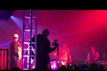 The Game Reenacts Stitches' Knockout At Recent Concert
