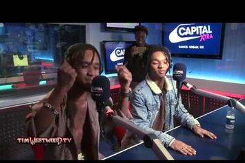 Rae Sremmurd Freestyle For Tim Westwood