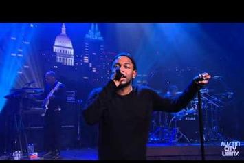"Kendrick Lamar Performs 3 ""TPAB"" Songs At Austin City Limits"