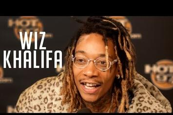 "Wiz Khalifa Talks ""Khalifa,"" Kanye West & Amber Rose On Hot 97"