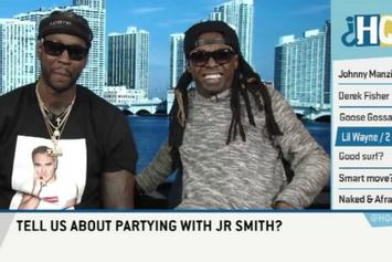 """Lil Wayne & 2 Chainz On ESPN's """"Highly Questionable"""""""
