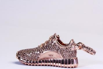 This Diamond-Studded Yeezy Boost 350 Pendant Is Insane