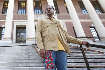 Pusha T Gives Lecture At Harvard University