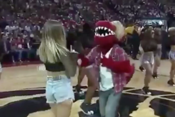 Watch The Toronto Raptors Mascot Impersonate Justin Bieber