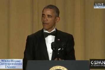 Watch President Obama's Full White House Correspondents' Dinner Speech