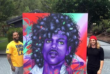 The Game Commissioned A $65,000 Painting Of Prince