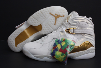"""""""Champagne"""" Air Jordan 8 Officially Unveiled"""