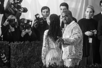 "Kanye West Is Debuting The First Single Off ""Cruel Winter"" Right Now"