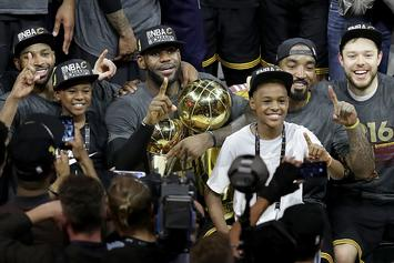 LeBron James' 11-Year Old Son Already Has Offers From Kentucky And Duke