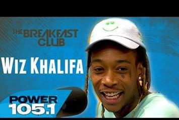 Wiz Khalifa On The Breakfast Club